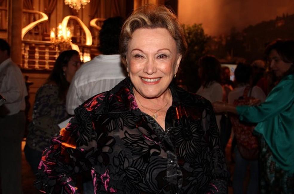 Quadro de saúde de atriz de 87 anos é considerado muito grave